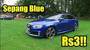 audi rs3 blue sepang blue audi rs3