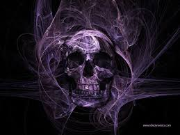 cool skull dark skull purple skull dark colour purple