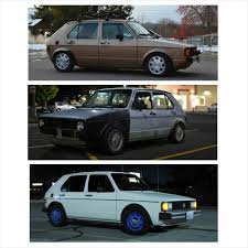 volkswagen rabbit custom 1984 vw rabbit 4door build thread