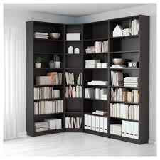 billy bookcase black brown ikea