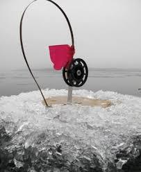 Зимняя рыбалка на жерлицы и живца