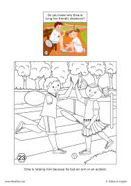 help your friend coloring pages hellokids com