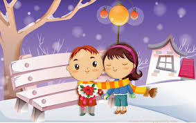 lovely couple animation cartoon photos with romantic quotes papawady