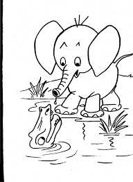 wild animal coloring pages for preschoolers