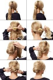 Hochsteckfrisurenen Selber Machen Glatte Haare by Die Besten 25 Hochsteckfrisuren Anleitung Ideen Auf