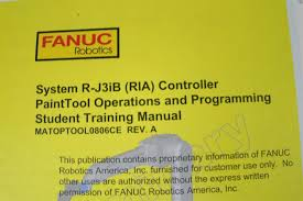 fanuc robotics r j3ib controller painttool operations and