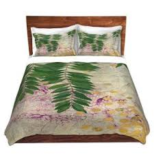 Paper Duvet Floral Duvet Covers And Shams Dianoche Designs