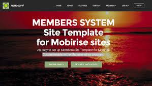 richosoft squared quality web sites fast mobirise members