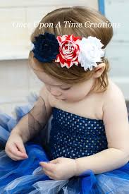 white and blue headband 111 best diy hairbows patriotic images on hair