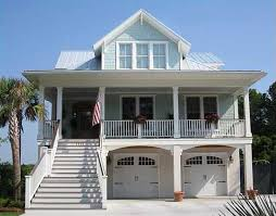 raised beach house plans coastal beach house plans on piers raised with elevator lookout