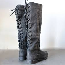 motorcycle riding boots near me laced up weathered riding boots black cozy and gray
