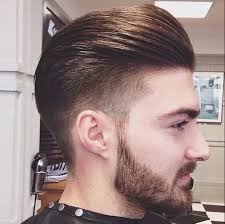 mens hair tapered fade slick back look h a i r pinterest