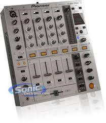 pioneer djm 700 k djm700 professional 4 chan dj mixer w effects