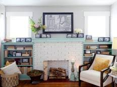 How To Cover Brick Fireplace by 15 Fireplace Remodel Ideas For Any Budget Hgtv
