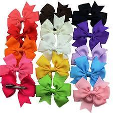 ribbon hair bows habi 30pcs grosgrain ribbon hair bows alligator for toddler