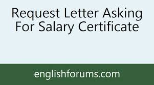 Request Letter Asking For Certification 1250021 image