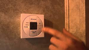 crusader rv dometic thermostat demo youtube