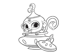 chic design shimmer and shine coloring pages 6 astonishing nick jr