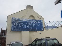 Top Balcony Goodison Park by Goodison Park Liverpool Football And Material Culture