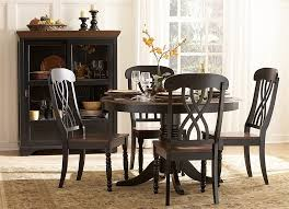 black dining room table set amazon com 48 ohana dining table black by homelegance