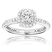 halo design rings images 14k gold cushion cut diamond unique engagement ring 1 22ct halo design jpg