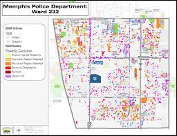 Crime Maps Crime Map Memphis Memphis Kriminalität Karte Tennessee Usa