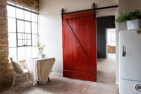 diy barn door track system unique diy interior barn door and how to hang an interior barn