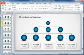 free organizational chart template for powerpoint metlic info