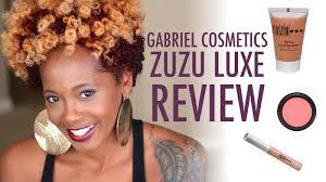 flawless organic makeup gabriel cosmetics u0026 zuzu luxe review
