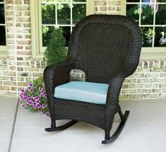 White Wicker Rocking Chair Outdoor Tortuga Outdoor Lexington Wicker Rocker Wicker Com