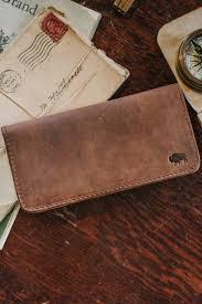 South Dakota mens travel wallet images Mens leather wallet checkbook wallet buffalo jackson jpg