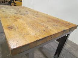 bench lyon work bench vintage industrial chicago commercial lyon industrial butcher block workbench lift table x lyon workbenches full size
