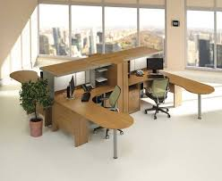 Modular Desks Home Office Home Office Modular Home Office Furniture Idea With Brown U Shaped