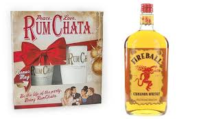 liquor gift sets rumchata gift set with fireball regency wines and liquor groupon