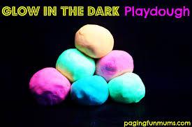 glow in the dark halloween party ideas glow in the dark no cook playdough