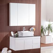 Contemporary Bathroom Vanity Cabinets 100cm White Contemporary Bathroom Vanities Mirror Cabinet Jolong