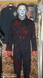 Michael Myers Costume Halloween Life Size Michael Myers Display Replica Movie Costume