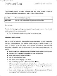 cover letter human resources consultant job description human