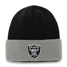 Raiders Thanksgiving Hat Buy Oakland Raiders Gray Cuff Beanie Hat Nfl Grey Cuffed Knit