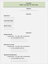 high school student resume templates college resume template microsoft word novasatfm tk