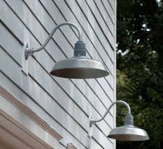 galvanized gooseneck barn light garage lighting galvanized gooseneck lights blog