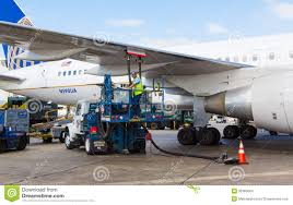 United Airline Luggage Refueling United Airlines Plane Editorial Stock Image Image