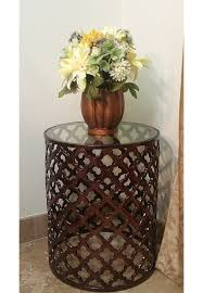 Bronze Accent Table Buy Decorshore Aluminum Bronze Lattice Accent Table