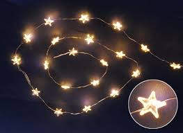 battery operated star lights set of 20 battery operated led ultra thin wire star christmas lights