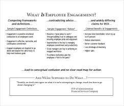 sample employment engagement survey 11 documents in pdf