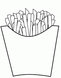 free coloring pages of fish and chips 12516 bestofcoloring com
