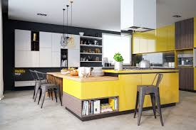 kitchen living room with kitchen and wireflow 2d pendant lights
