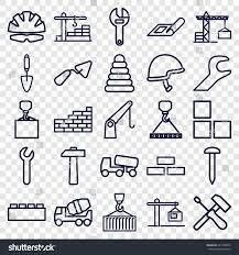 build icons 25 build stock vector 641598553 shutterstock