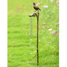 amazon com spi home easy read quail rain gauge holder with stake