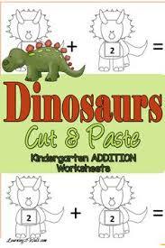 dinosaur preschool no prep worksheets u0026 activities literacy
